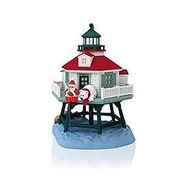 Holiday Lighthouse 3rd In Series - 2014 Hallmark Keepsake Ornament