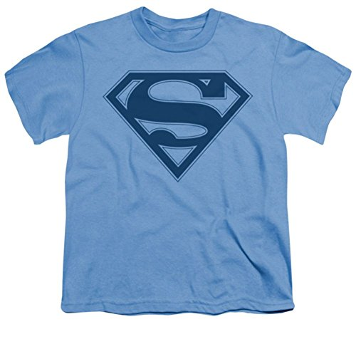 Superman: Blue & Navy Shield Youth T-Shirt SM1472BYT
