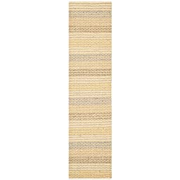 Safavieh Organica Collection ORG411A Hand-Knotted Multicolored Wool Runner, 2 feet by 6 feet (2\' x 6\')