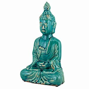 Http Www Amazon Co Uk Serene Buddha Ceramic Statue Accessories Dp B00bzxt7s2
