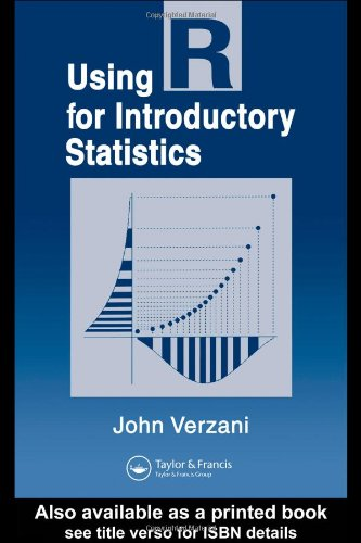 Using R for Introductory Statistics