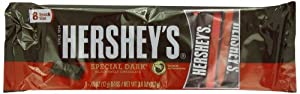 Hershey's Snack Size Bars, Special Dark, 3.6 Ounce (Pack of 24)