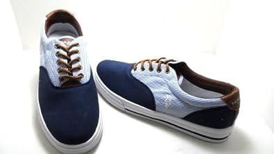 U.S. Polo Assn. Men's Skip in Stripe Sneakers Navy/Blue Size 7.5M NEW