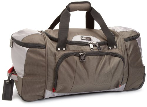 Kenneth Cole Reaction Luggage Take It All 26 Inch Wheeled Duffel Bag, Olive, Medium best seller
