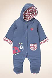 Petit Bebe Pure Cotton Hooded Pramsuit [T78-8324Q-Z]