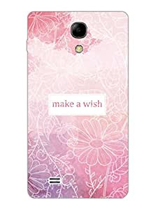 Make A Wish - Floral - Hard Back Case Cover for Samsung S4 Mini - Superior Matte Finish - HD Printed Cases and Covers