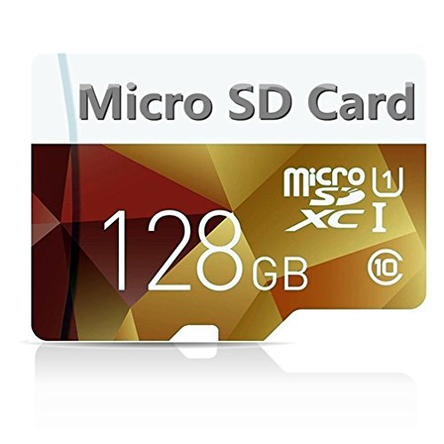 Micro Sd Card 128gb, High Speed 128GB Micro SD Card Class 10 with Free Micro SD Adapter (128gb Micro Sd Card Generic compare prices)