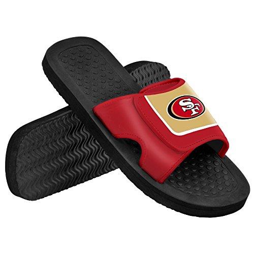 San Fransico 49Ers Nfl Men'S Shower Slide Flip Flops