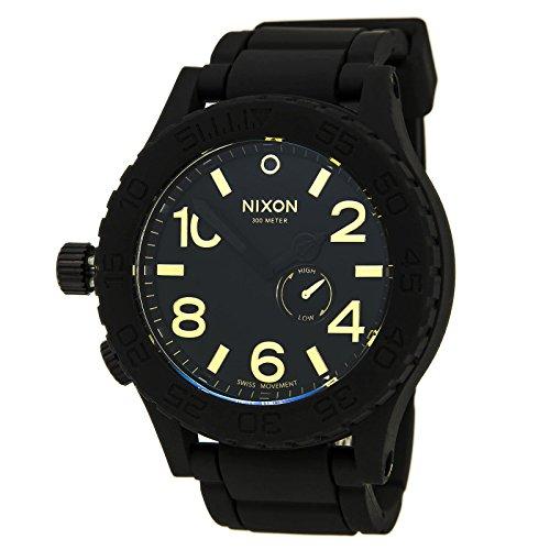 NIXON RUBBER 51-30 RELOJ UNISEX CUARZO 51MM CORREA DE SILICONA A236-1041