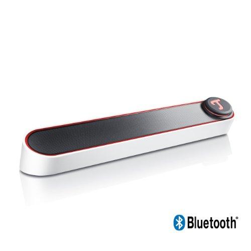 Teufel BT BAMSTER portabler Bluetooth Soundbar Weiß