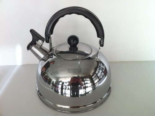 how to use a whistling tea kettle