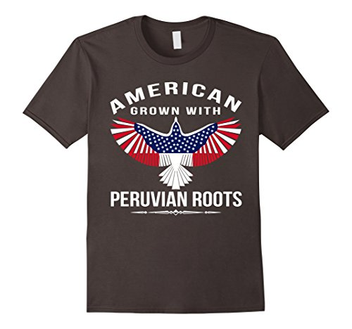 American-Grown-With-Peruvian-Roots-T-Shirt