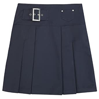 French Toast School Uniforms Front Pleated Coin Pocket Skirt Girls Navy 4