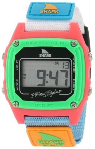 Freestyle women's FS84861 Shark Clip Classic Retro Television Screen Case Digital Watch