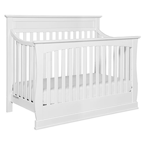 Davinci Glenn 4-In-1 Convertible Crib With Toddler Bed Conversion Kit, White - 1