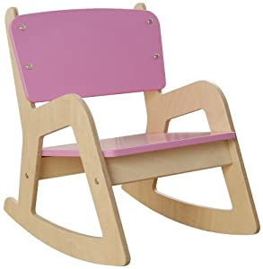 Millhouse Childrens Wooden Rocking Chair (Pink): Amazon.co.uk: Toys ...