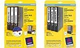 Avery L4760-20X L4760-20 - Etiquetas para lomo de archivadores con software gratuito colores variados