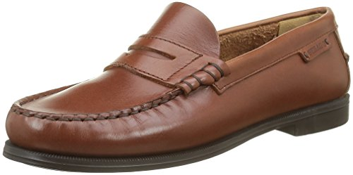 Sebago Plaza II, Mocassini Donna, Marrone (Brown Oiled Waxy Lea), 39 EU