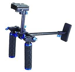 Polaroid Dual Grip Video Chest Stabilizer Support System For The Canon VIXIA HF M400, M40, M41, M52, M50, M500, M32, G10, G20, G30, S30, XA10, XA20, XA25, XF100, XF105 Camcorder