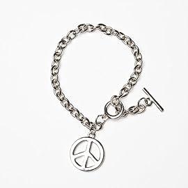 Charm Bracelet -Metal Peace