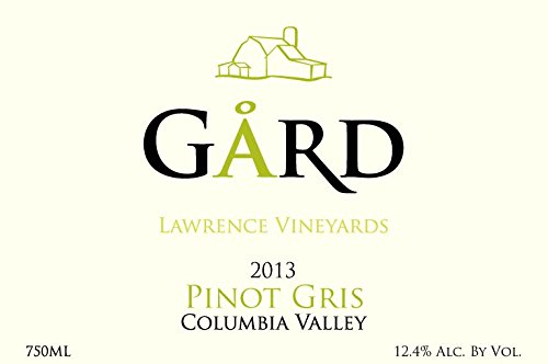 2013 Gard Vintners Columbia Valley Pinot Gris 750 Ml