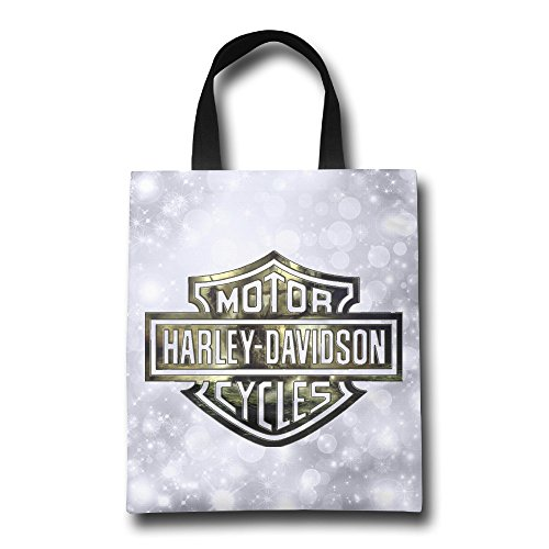 GUC Harley Davidson Logo Shopping Bags Beach Reusable Grocery Bag (Nba Mini Fridge compare prices)