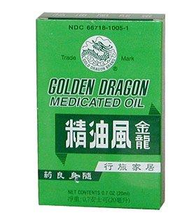 Golden Dragon Medicated Oil (Jin Long Feng Jing