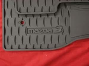 Amazon Com Mazda 3 2009 2013 All Weather Floor Mats