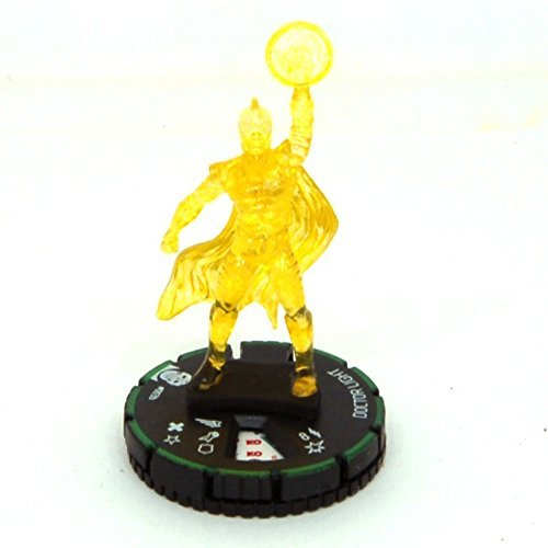 Heroclix DC Justice League Trinity War #003b Doctor Light Figure Complete with Card - 1