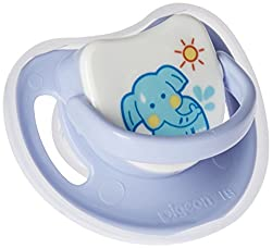 Pigeon Slilicone Pacifier Step 2, Elephant