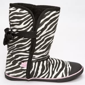 Zebra Sugar Boots