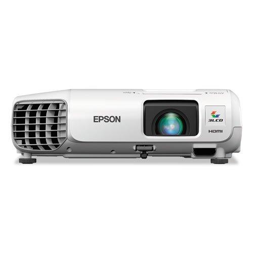 Epson - Powerlite 9X Projector Series, 3000 Lumens, 1024 X 768 Pixels,1.2X Zoom V11H577020 (Dmi Ea