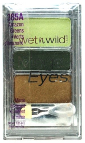 ウェットアンドワイルド MEGA EYES EYE SHADOW #385A AMAZON GREENS