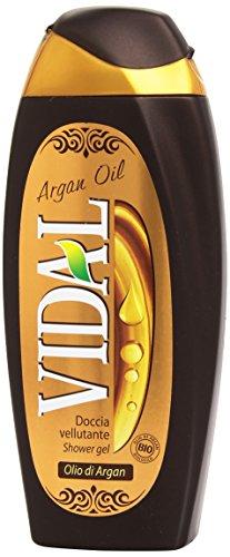 Vidal - Doccia Vellutante, Olio di Argan, 250 ml