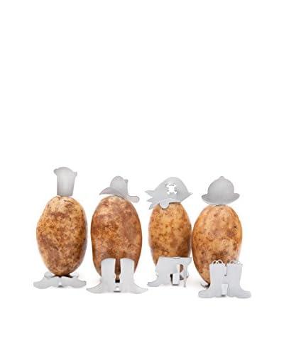 Charcoal Companion Set of 4 Potato People