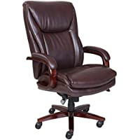 La Z Boy Edmonton 45764 Bonded Leather Office Chair (Coffee Brown)