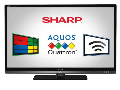 Black Friday Sharp LC46LE830U Quattron 46-inch 1080p 120 Hz LED-LCD HDTV, Black Deals