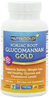 Nutrigold Glucomannan GOLD Konjac Root Fiber for Weight-loss