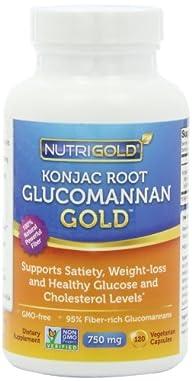Nutrigold Glucomannan GOLD, Konjac Ro…