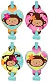 Pink Mod 8216Monkey Love Blowouts 8ct
