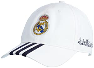 adidas Real Madrid W42906 Casquette Taille unique Blanc/Encre