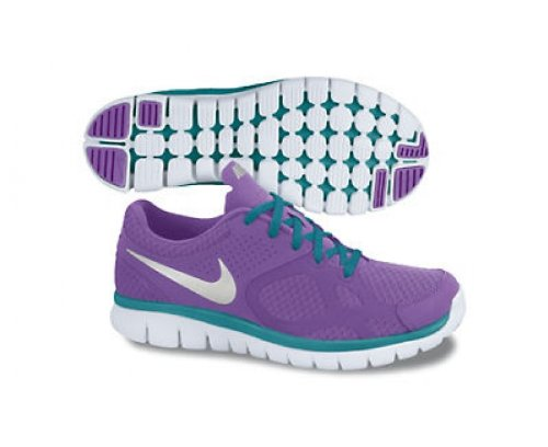 NIKE Flex 2012 Ladies Running Shoes, Purple, US6.5 Nike Flex