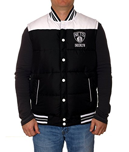 Brooklyn Nets Reversible Puffer Vest (XXL) (Brooklyn Nets Car Emblem compare prices)