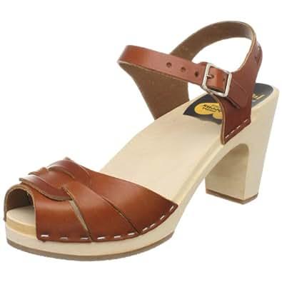 Toe Super High Platform Sandal,Cognac,37 EU (US Women's 7 M): Shoes