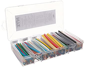 NTE Heat Shrink 2:1 Assorted Colors and Sizes 160 PCS
