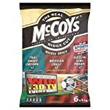 McCoys Nicely Spicy Variety Crisps 6 X 32G