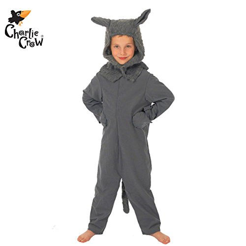 Wolf Costume for Kids 8-10 Yrs