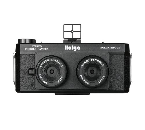 Cheapest Price! Holga 120Pc-3D Stereo Pinhole Camera