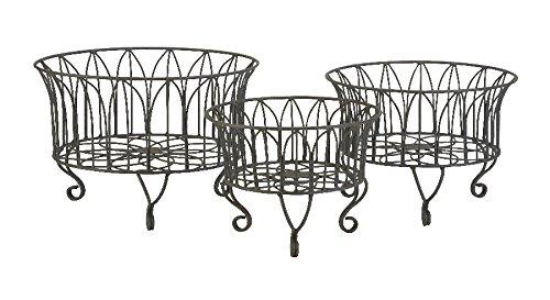 Imax Joycelyn Metal Baskets, Set Of 3