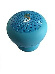 BLAU FÃœNF Wireless Portable Bluetooth Mini Speaker, Aqua Blue